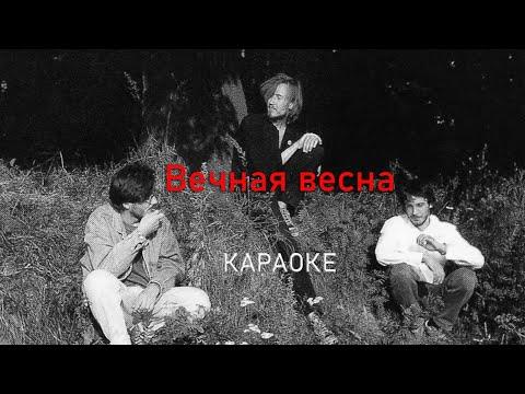 Вечная весна - Егор Летов (караоке)