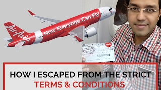 Top 10 Airlines - Air Asia : India to Bangkok (4000 Rs) : Everything recorded and explained :First timers MUST WATCH
