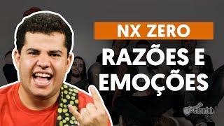 Razões e Emoções - Nx Zero (aula de guitarra)