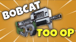 THIS GUN IS TOO OP!! // BOBCAT Weapon Review // Fortnite // Save The World