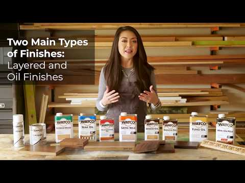 How to Choose the Right Wood Finish For Your Project
