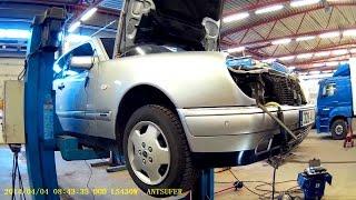 Зняття WEBASTO DW-50 removal/Mercedes W210