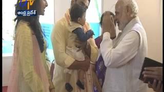PM Narendra Modi Meets Chandrababu Naidu Family; Lauds Devaansh