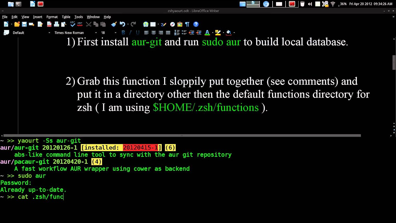 Install oh my zsh arch linux | Peatix