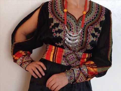 Robes kabyles 2017 modernes, tasdira