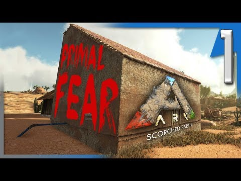 PRIMAL FEAR ON SCORCHED EARTH! | ARK: Pooping Evolved Primal Fear SE E1