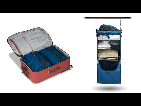 Riser Collapsible Shelves Luggage Insert - BLUE