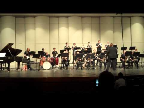 West View Middle School Jazz Band performs Blah blah blah