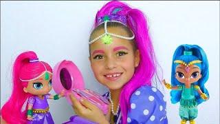 صوفيا تلبس كأميرة و تلعب بالدمى السحرية و الألعاب للفتيات!  أفضل سلسلة قصص تعليمية وأخلاقية للأطفال