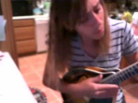 Maggie May Rod Stewart mandolin cover - YouTube