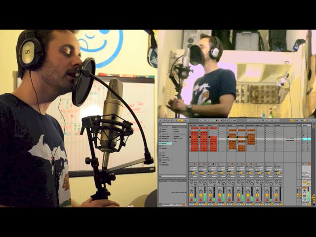 Gorillaz - On Melancholy Hill (Ableton live recording by Assemble the Noise)