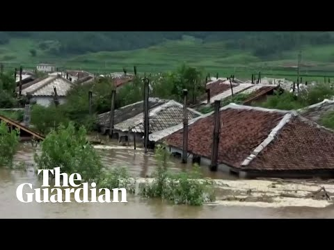 Thousands evacuate as North Korea floods damage homes and crops