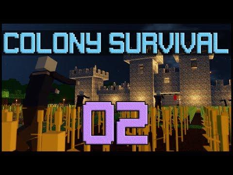 Colony Survival - E02 'Farming & Mining'
