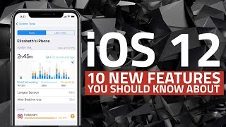 iOS 12 for iPhone and iPad | 10 New Features You Should Know About