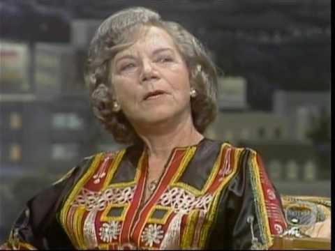 Ellen Corby, Rare 1976 TV Interview, Grandma Walton