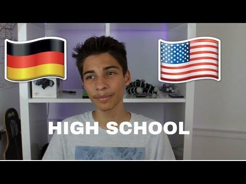German vs American Highschool