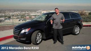 2012 Mercedes-Benz R-Class Test Drive & Luxury Car Review