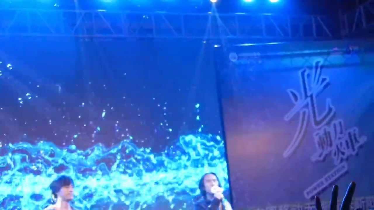20130320動力火車新歌發表會 @成都 艾琳娜演唱現場 - YouTube