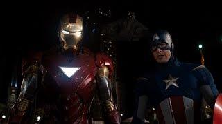 Твой ход, северный олень. Железный Человек и Капитан Америка против Локи
