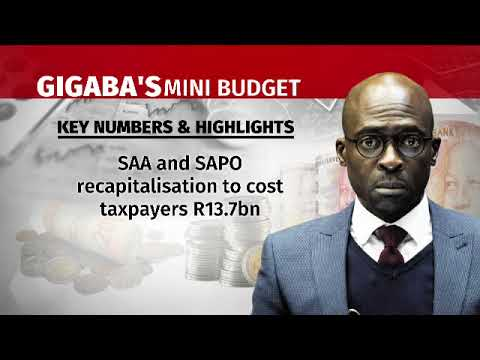 Mini budget: SA economy remains in shackles