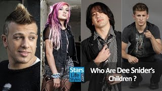 Who Are Dee Snider's Children ? [1 Daughter And 3 Sons] | Twisted Sister Singer