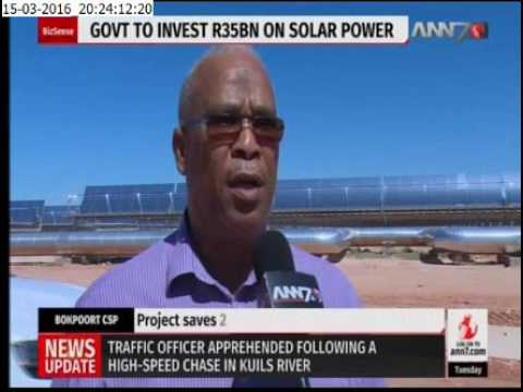 R5 billion Bokpoort Concentrated Solar Power plant Launched in N.Cape
