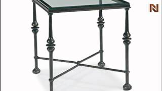 Bernhardt Market Street Square Metal End Table 383-121