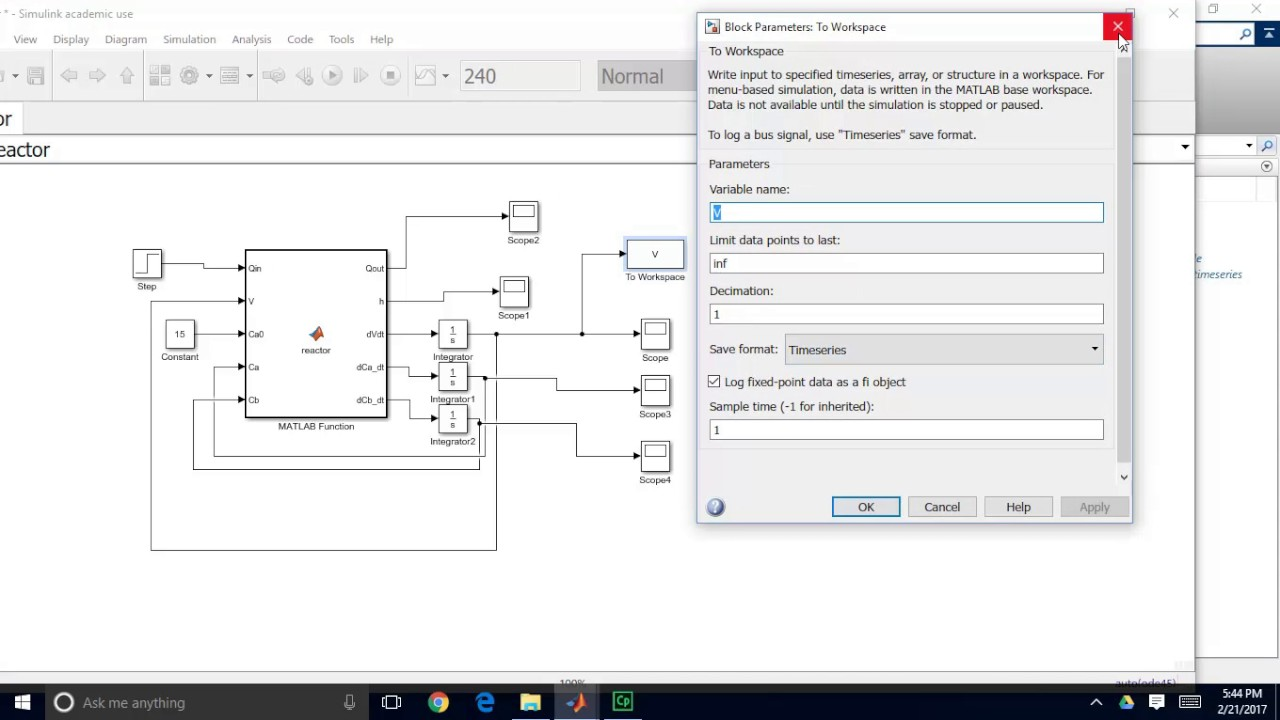 How to export data from Simulink to Matlab and how to work with Time Series  Structure