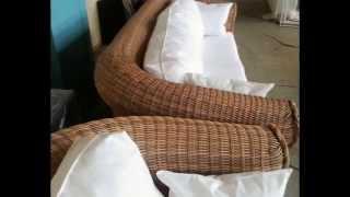 Плетёная мебель из искусственного, техно ротанга, подходит к любым климатическим условиям.(, 2014-02-24T16:51:56.000Z)