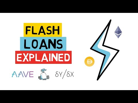 Borrow Millions In DEFI With NO COLLATERAL? FLASH LOANS Explained (Aave, dYdX)