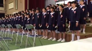 平成26年度柁城小学校卒業式