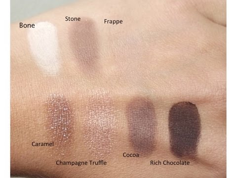 revue maquillage la palette rich chocolate de bobbi. Black Bedroom Furniture Sets. Home Design Ideas