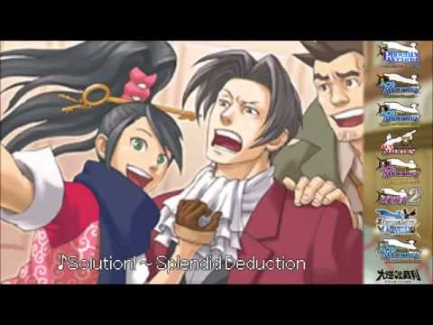 (Old) Ace Attorney: All Victory Themes 2015