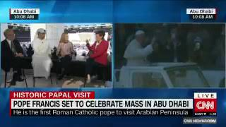 First-ever papal mass begins in the Arabian peninsula