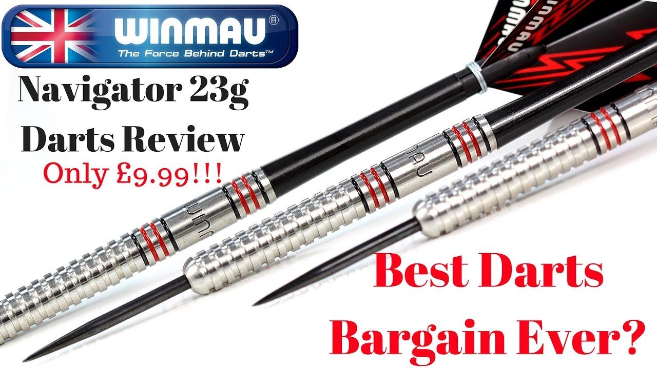 Dartpfeile WINMAU Steeldarts Navigator 23 g