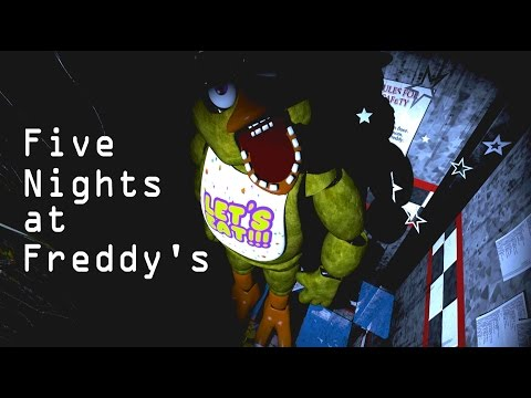 ¡¡Chica, la pata horripilante!! - Five Nights at Freddy's | Noche 3