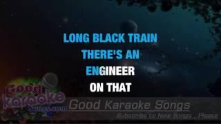 Long Black Train - Josh Turner (Lyrics Karaoke) [ goodkaraokesongs.com ]