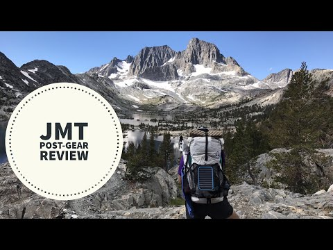 JMT Post Hike Gear Review (15 lbs)