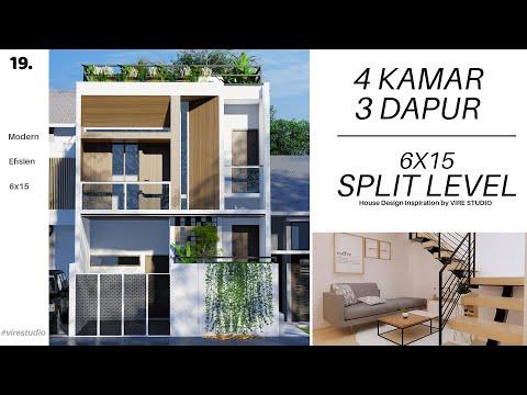 rumah-split-level-6x15-2.5-lantai-dengan-rooftop-garden
