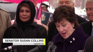 Emmett Till Tree Memorial - Senator Susan Collins