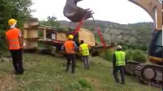 Loader Rescue Fail...Safety is Important for Rescue (Human or Machine) :)