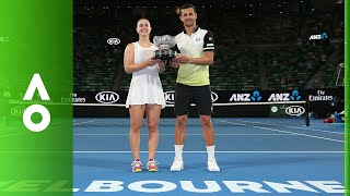 Mixed Doubles Final Ceremony | Australian Open 2018