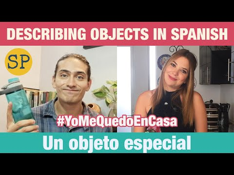 Learn Spanish Descriptions | Describing Things In Spanish | Adjectives