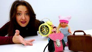 Видео с Барби: Штеффи первый раз идет в садик