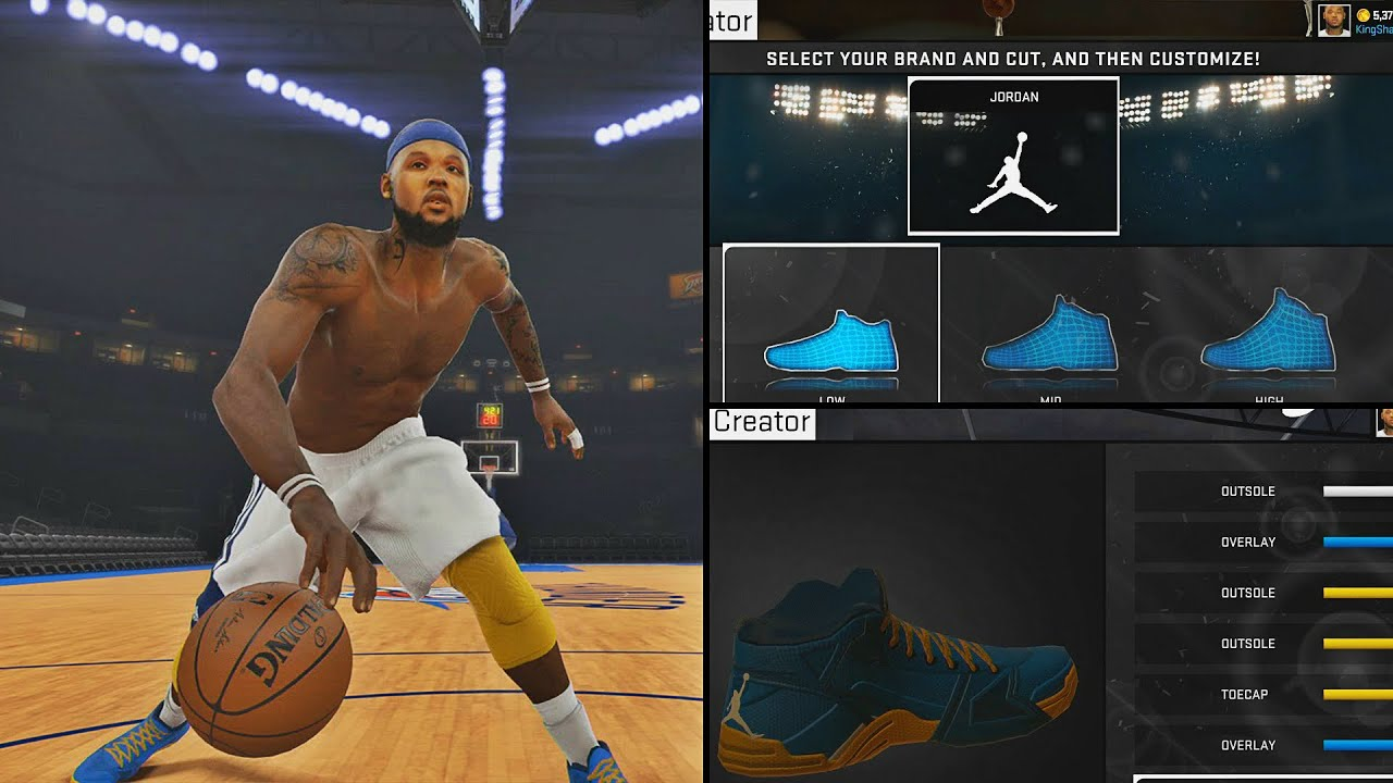 NBA 2K15 MyCAREER Playoffs WCFG5 - Jordan Signature Shoe Endorsement &  Commercial!!! - YouTube
