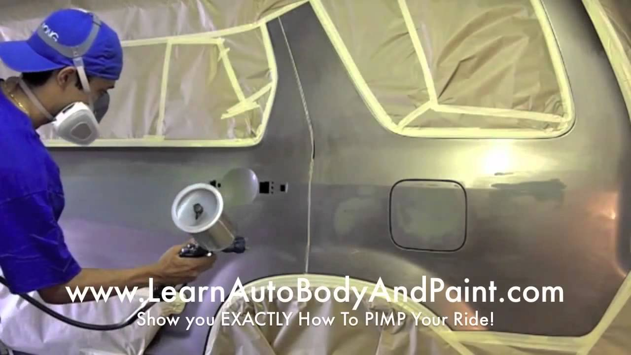How to spray paint a car at home yourself affordable diy methods how to spray paint a car at home yourself affordable diy methods youtube solutioingenieria Gallery