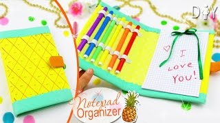 DIY ORGANIZER NOTEPAD TUTORIAL | PLANNER