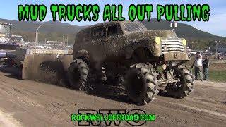 MUD TRUCK SLED PULLS!!!  VERMONSTER 4X4!!!