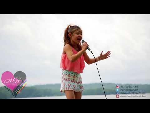 Angelica Hale sings