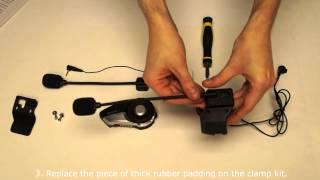 Sena 20S How To Video (Schuberth Helmet Installation - Part 1)